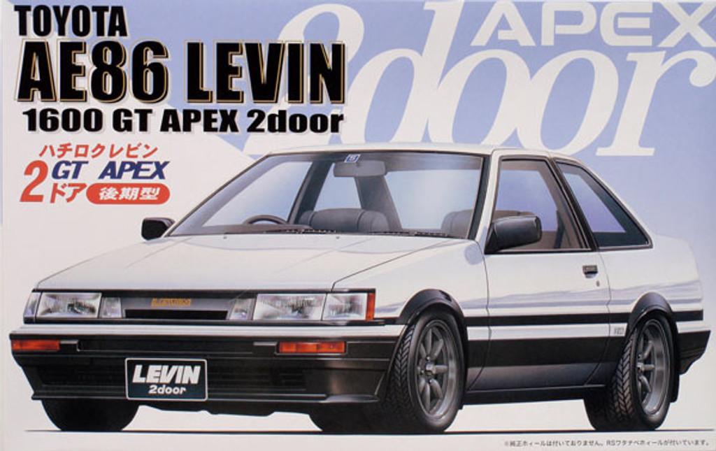 Fujimi ID-61 Toyota Levin 1600GT APEX AE86 1/24 Scale Kit