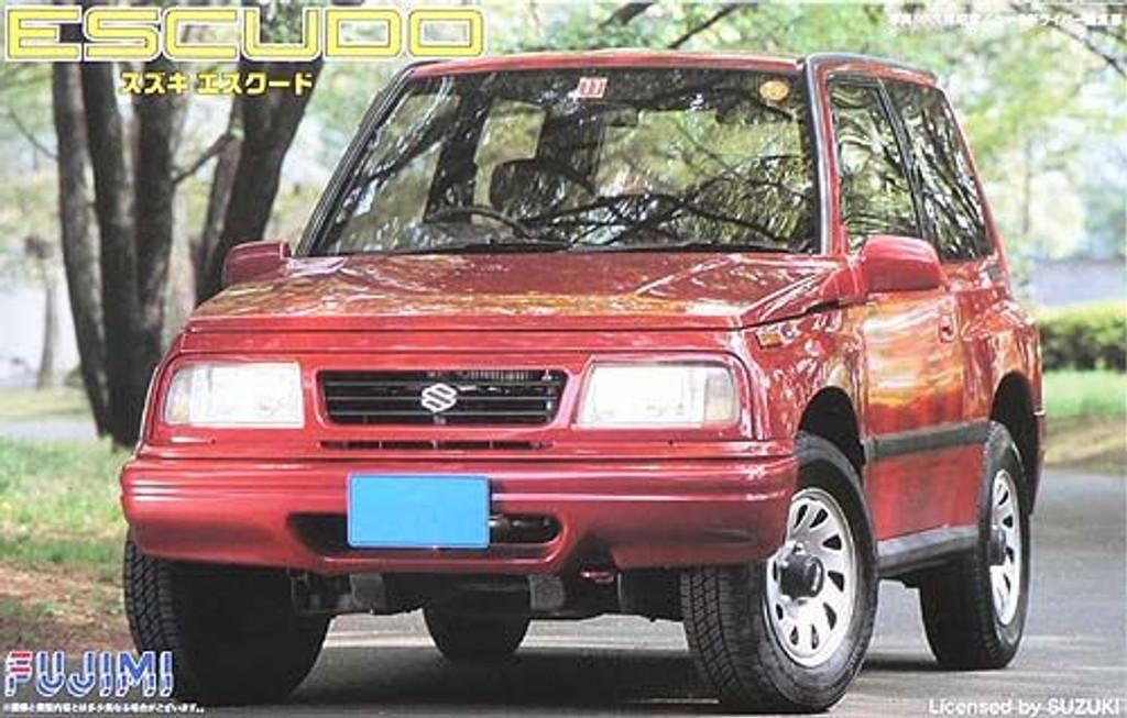 Fujimi ID-72 Suzuki Escudo 1/24 Scale Kit