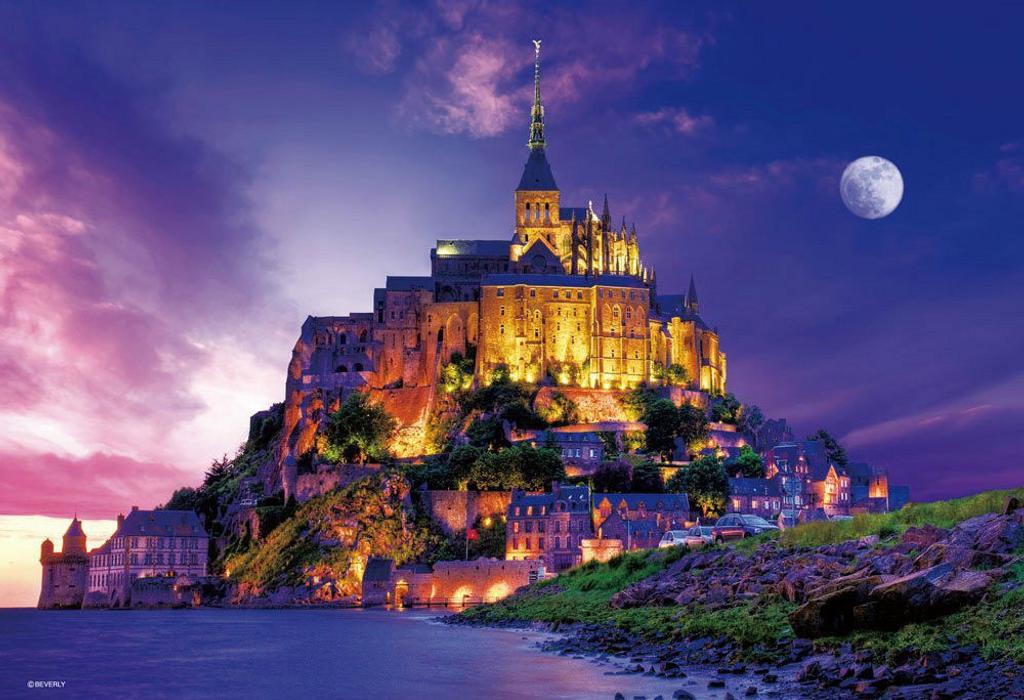 Beverly Jigsaw Puzzle 33-093 Mont Saint-Michel (300 Pieces)