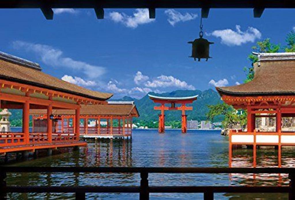 Beverly Jigsaw Puzzle 51-203 Japanese Scenery Itsukushima Shrine (1000 Pieces)