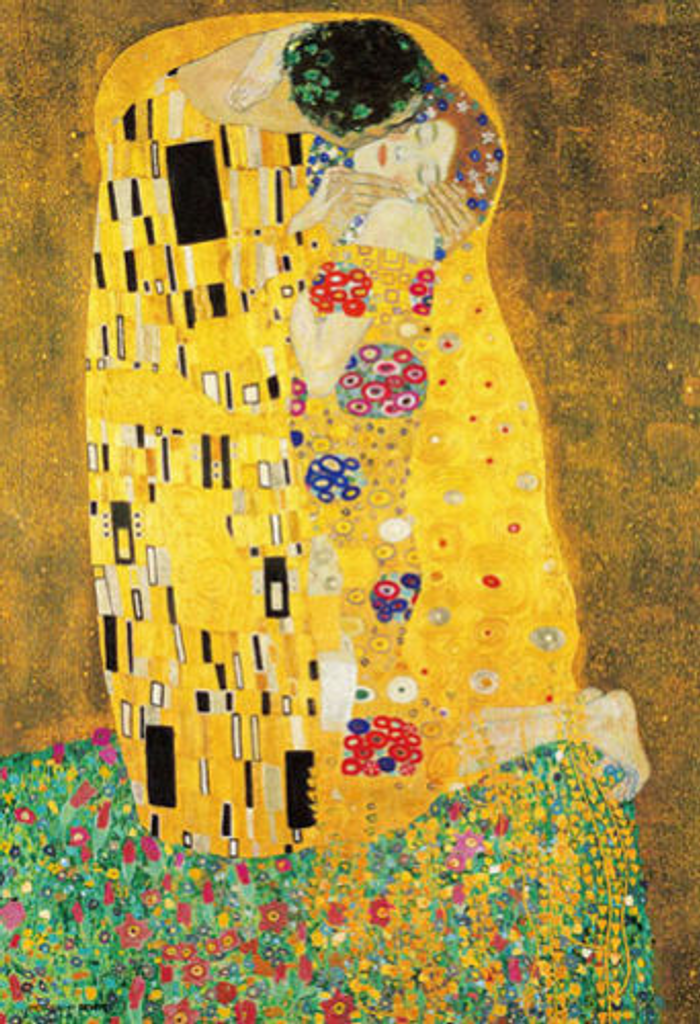 Beverly Jigsaw Puzzle M71-838 Gustav Klimt  The Kiss (1000 S-Pieces)