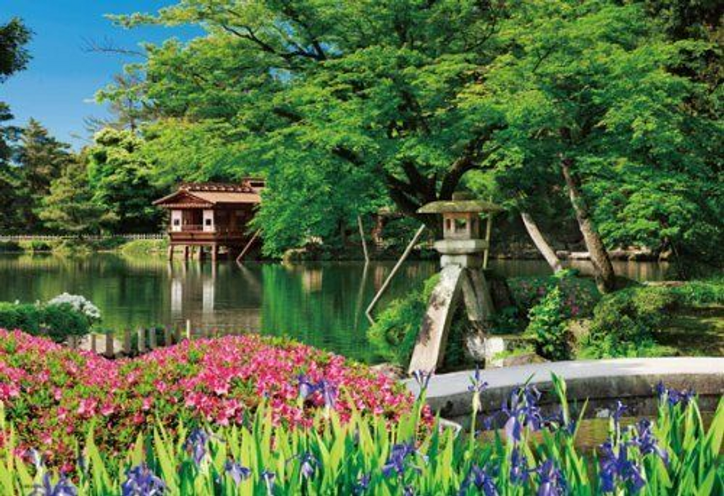 Beverly Jigsaw Puzzle M71-857 Japanese Scenery Kenroku-en (1000 S-Pieces)