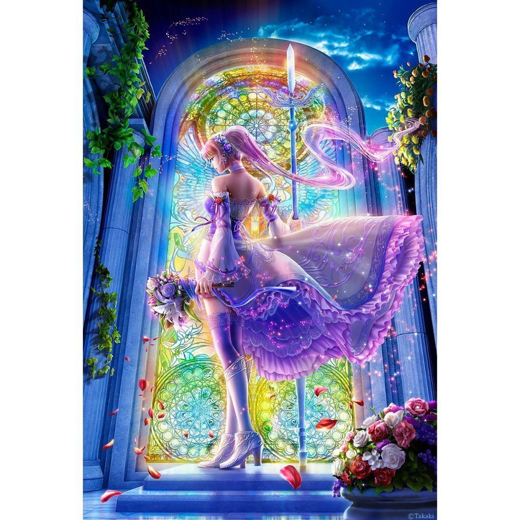 Beverly Jigsaw Puzzle M81-525 Fantasy Art Promise to Heart (1000 S-Pieces)