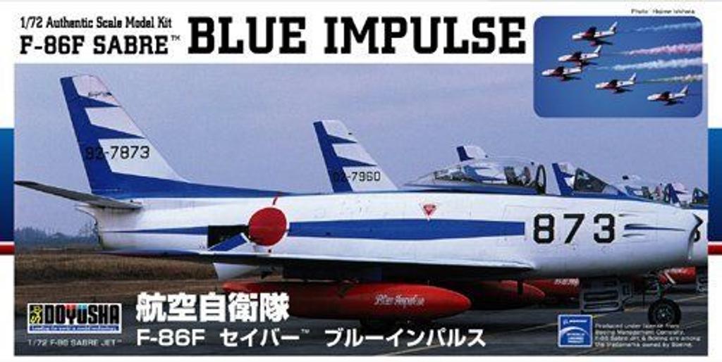 Doyusha 400920 F-86F SABRE Blue Impulse 1/72 Scale Plastic Kit
