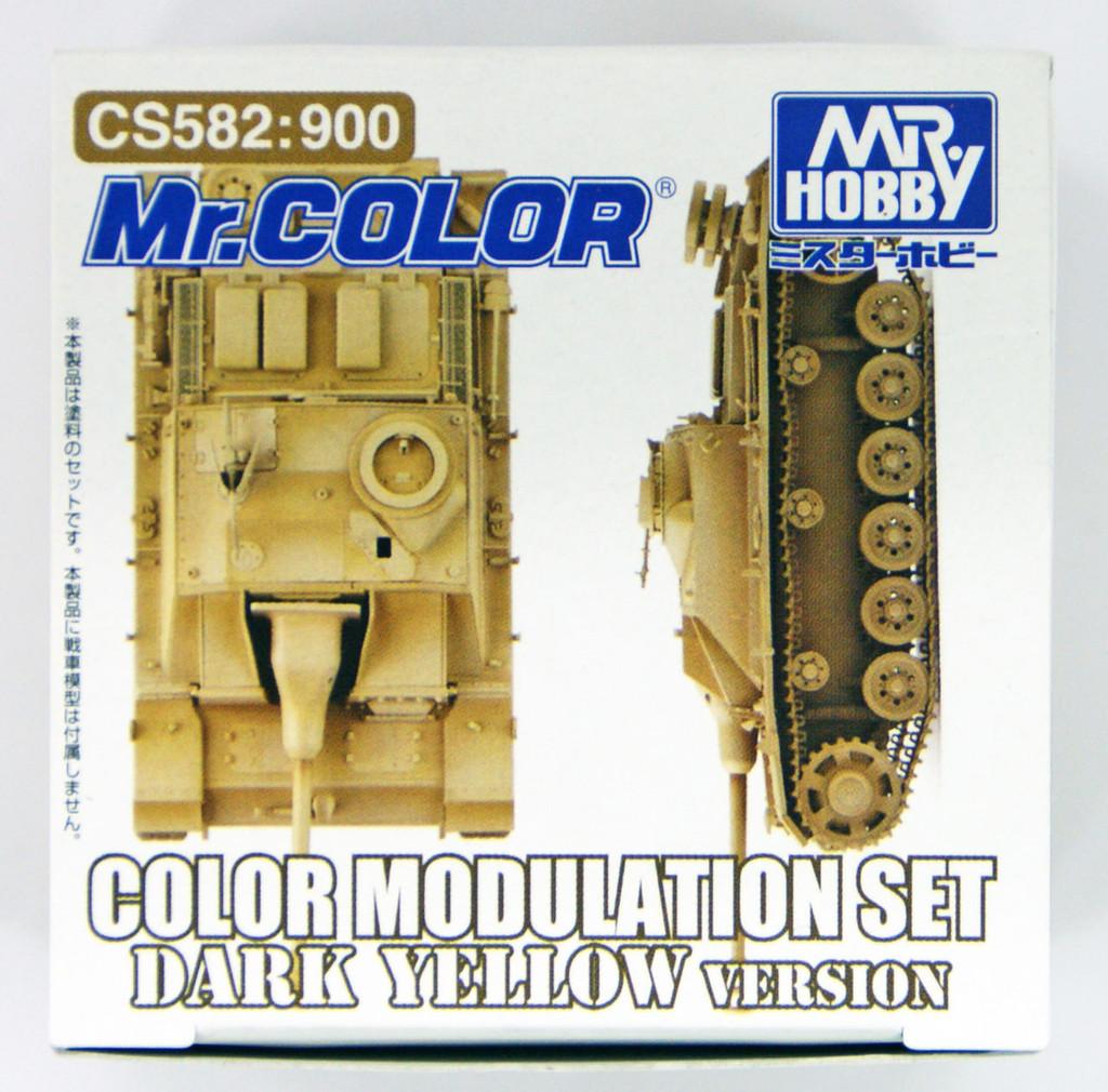 GSI Creos Mr.Hobby CS582 Mr. Color Modulation Set Dark Yellow Version