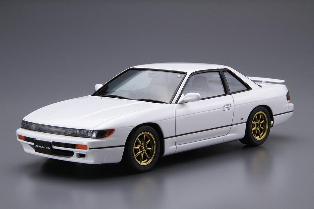Aoshima 52105 The Model Car 13 Nissan Silvia PS13 '91 1/24 Scale Kit