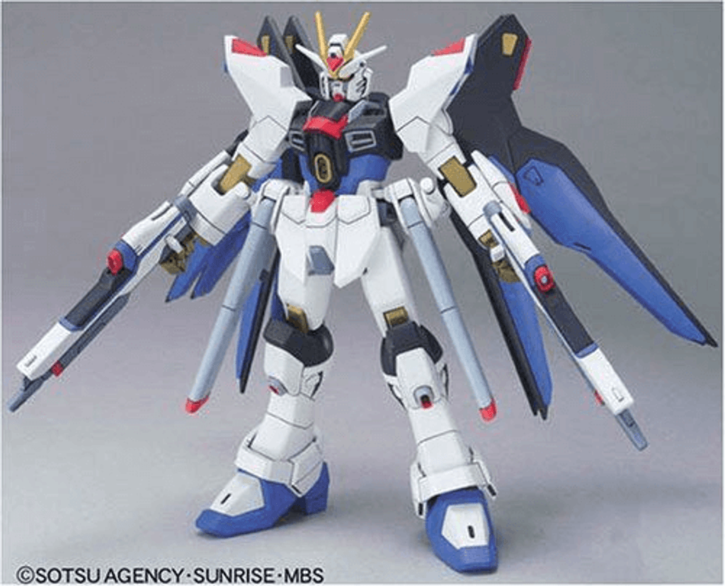 Bandai 341136 HG Gundam Seed Destiny Strike Freedom Gundam 1/144 Scale Kit