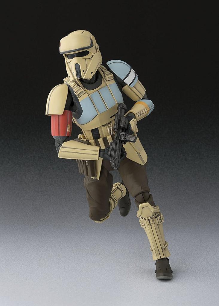 "Bandai 094579 S.H. Figuarts STAR WARS Series Rogue One ""Shoretrooper"" Figure"