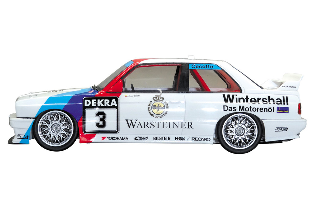 Aoshima 98196 BMW M3 E30 '91 Deutschland Model 1/24 scale kit
