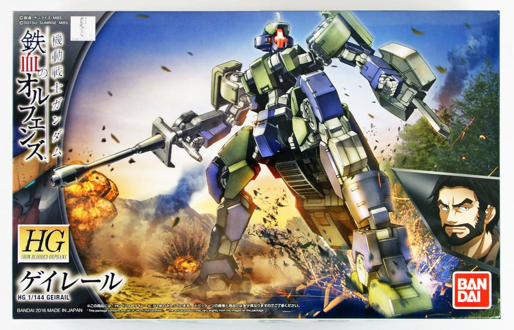 Bandai Iron-Blooded Orphans 026 Gundam GEIRAIL 1/144 Scale Kit