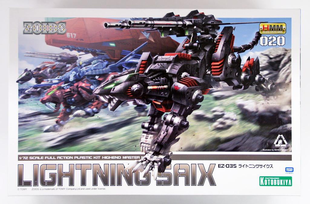 Kotobukiya ZD036 Zoids EZ-035 Lightning Saix 1/72 scale kit