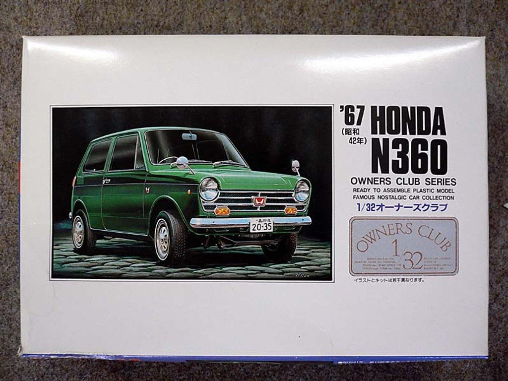 Arii Owners Club 1/32 05 1967 Honda N360 1/32 Scale Kit (Microace)