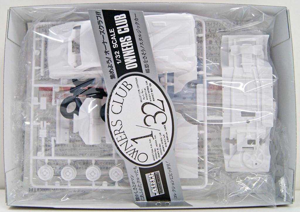 Arii Owners Club 1/32 14 1969 Bellett 1600GTR 1/32 Scale Kit (Microace)