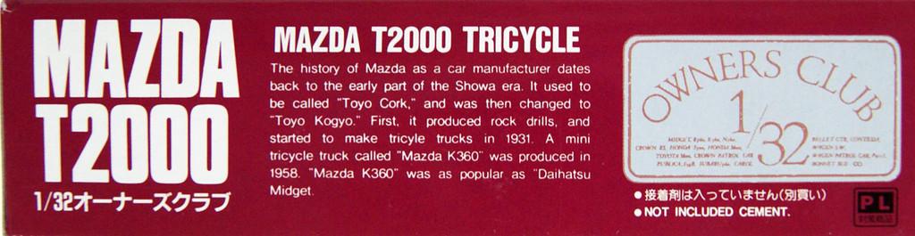 Arii Owners Club 1/32 18 1956 MAZDA T2000 1/32 scale kit (Microace)