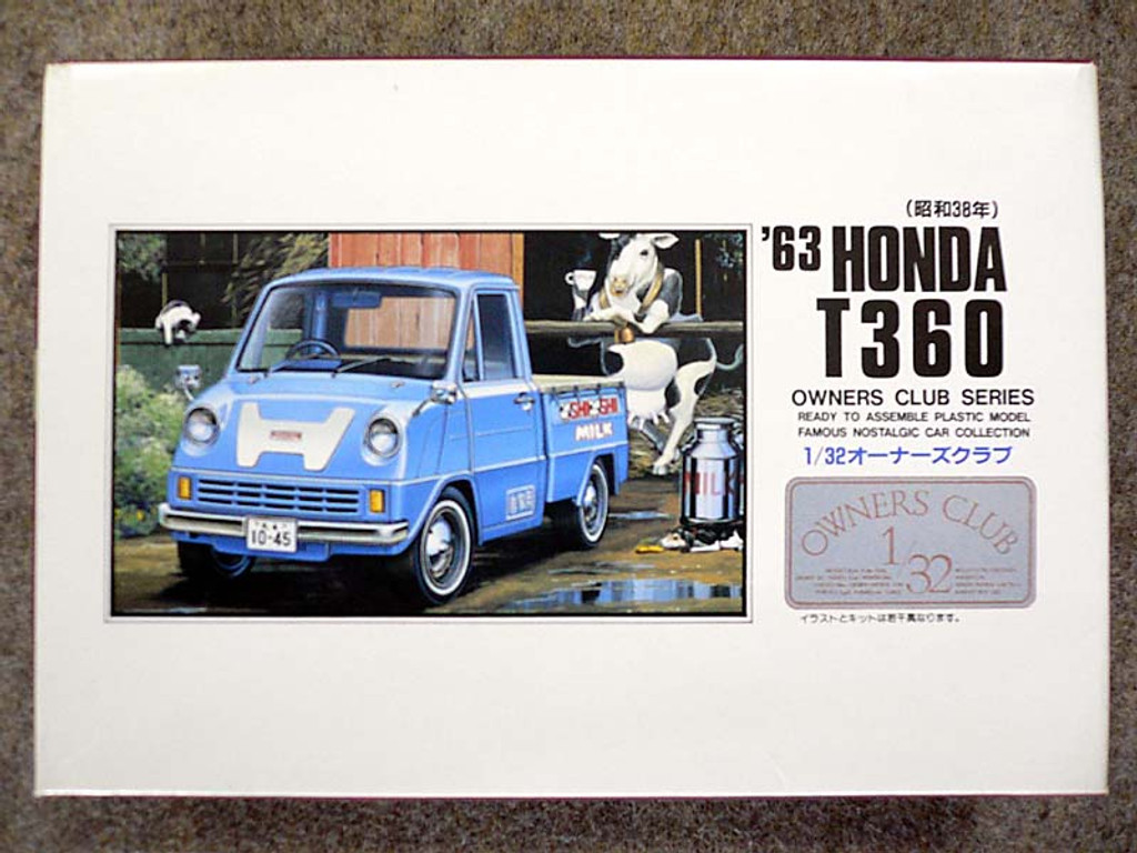 Arii Owners Club 1/32 22 1963 HONDA T360 1/32 Scale Kit (Microace)
