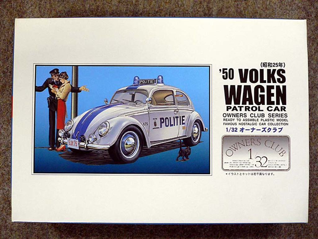Arii Owners Club 1/32 52 1950 Volkswagen Patrol 1/32 Scale Kit (Microace)