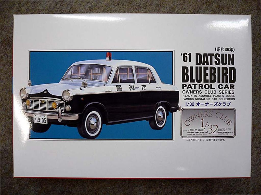 Arii Owners Club 1/32 55 1961 Bluebird Patrol 1/32 Scale Kit (Microace)