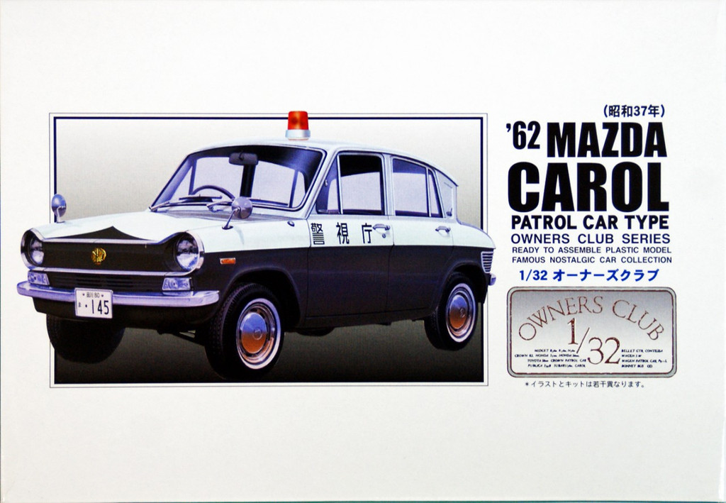 Arii Owners Club 1/32 64 1964 Mazda Carol Patrol 1/32 Scale Kit (Microace)