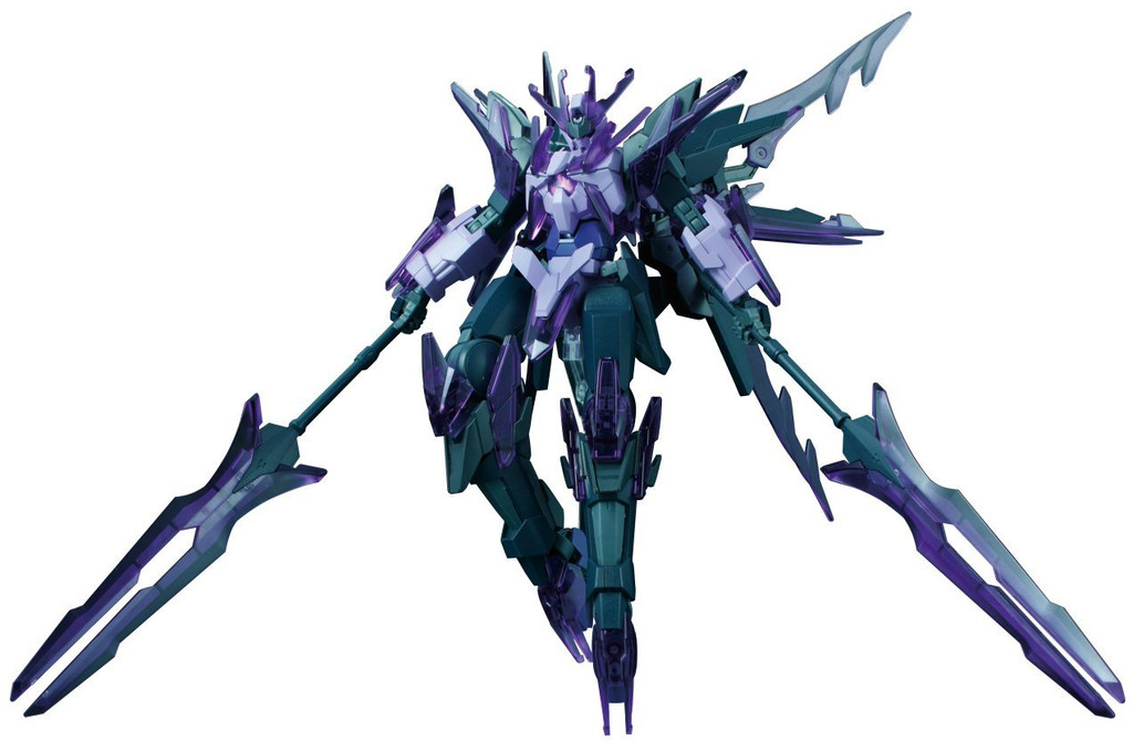 Bandai HG Build Fighters 050 TRANSIENT GUNDAM GLACIER Team Lapis Lazuli: Lindsey Anegaozy's Mobile Suit 1/144 scale kit