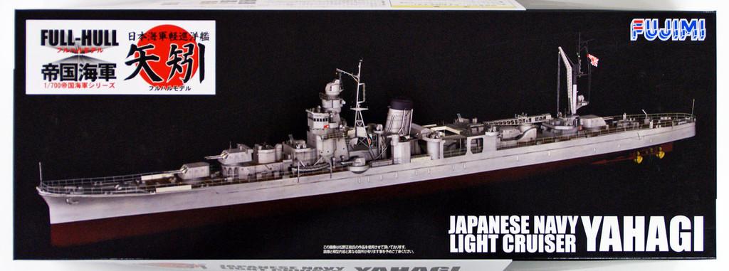 Fujimi FH-37 IJN Japanese Navy Light Cruiser YAHAGI (Full Hull) 1/700 scale kit