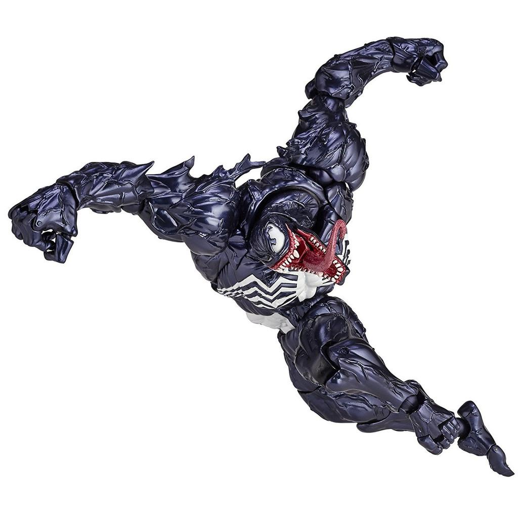 Kaiyodo Amazing Yamaguchi 003 Marvel Comic VENOM Action Figure