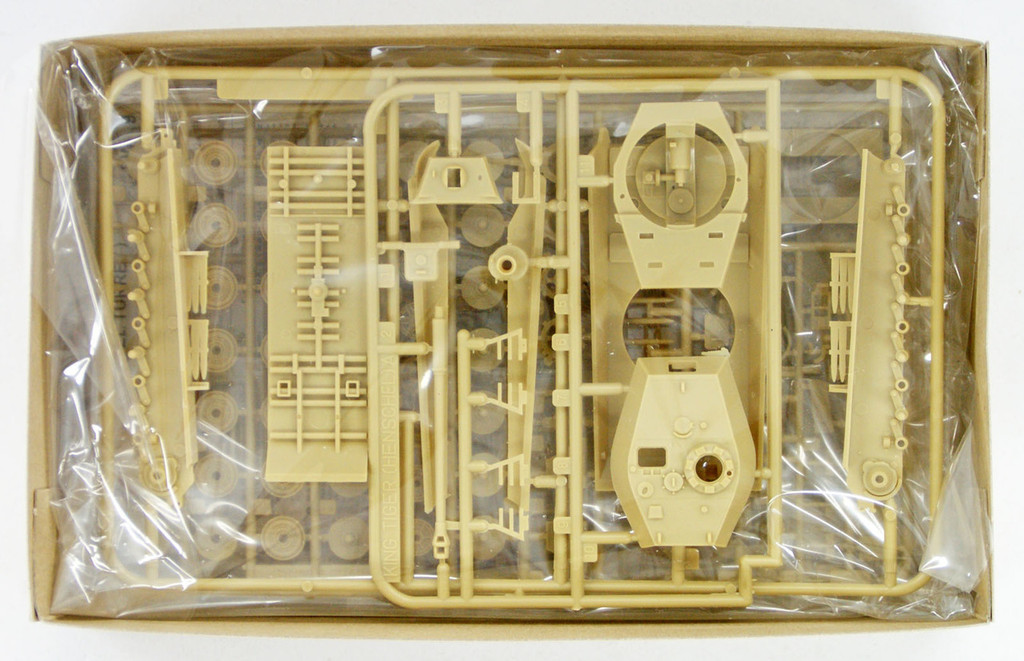 Fujimi SWA09 Tiger II (Henschel Turret) 1/76 scale kit
