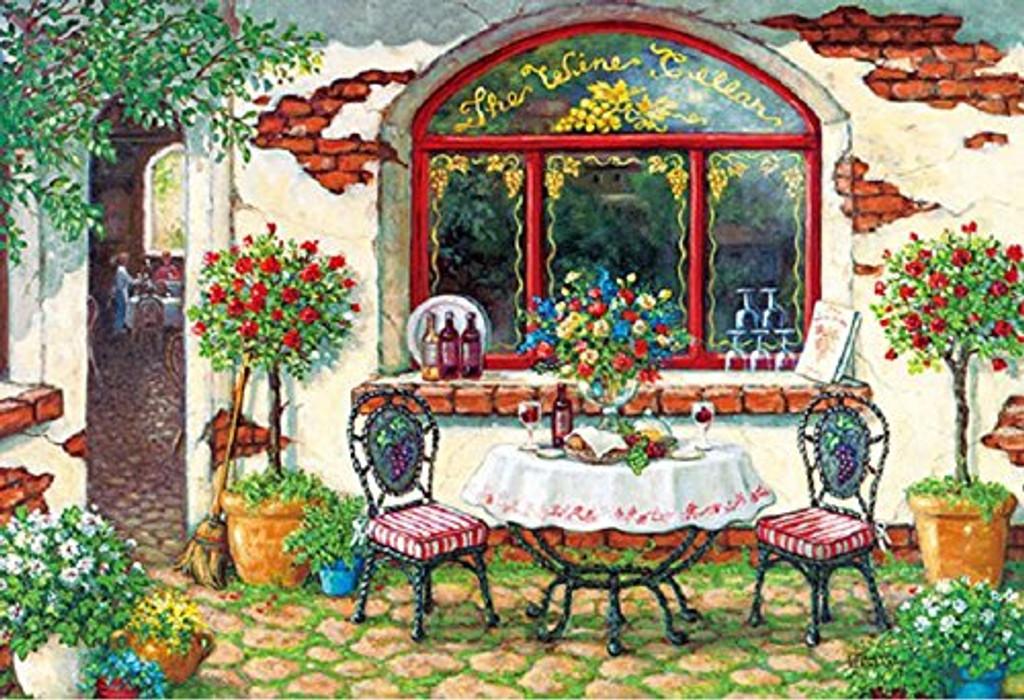 APPLEONE Jigsaw Puzzle 300-323 Janet Kruskamp Wine Cellar Brunch (300 Pieces)