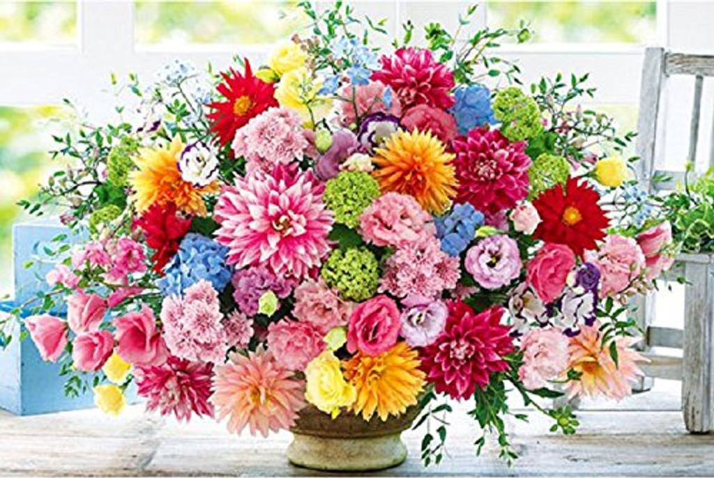 APPLEONE Jigsaw Puzzle 1000-794 Beautiful Flowers Dahlia (1000 Pieces)