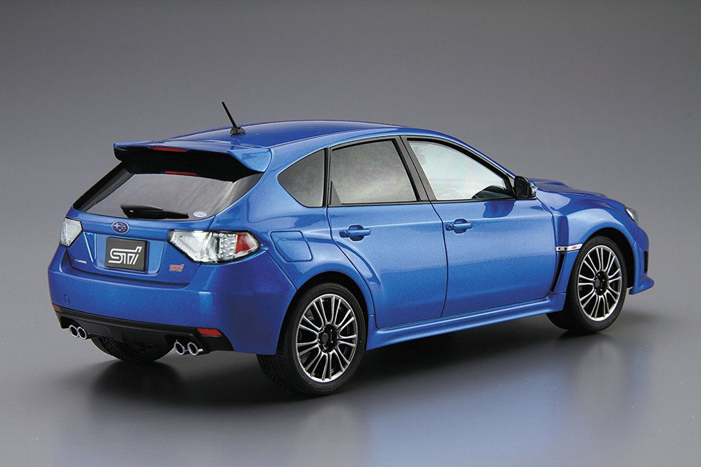 Aoshima 52358 The Model Car 29 Subaru GRB Impreza WRX STI '10 1/24 scale kit