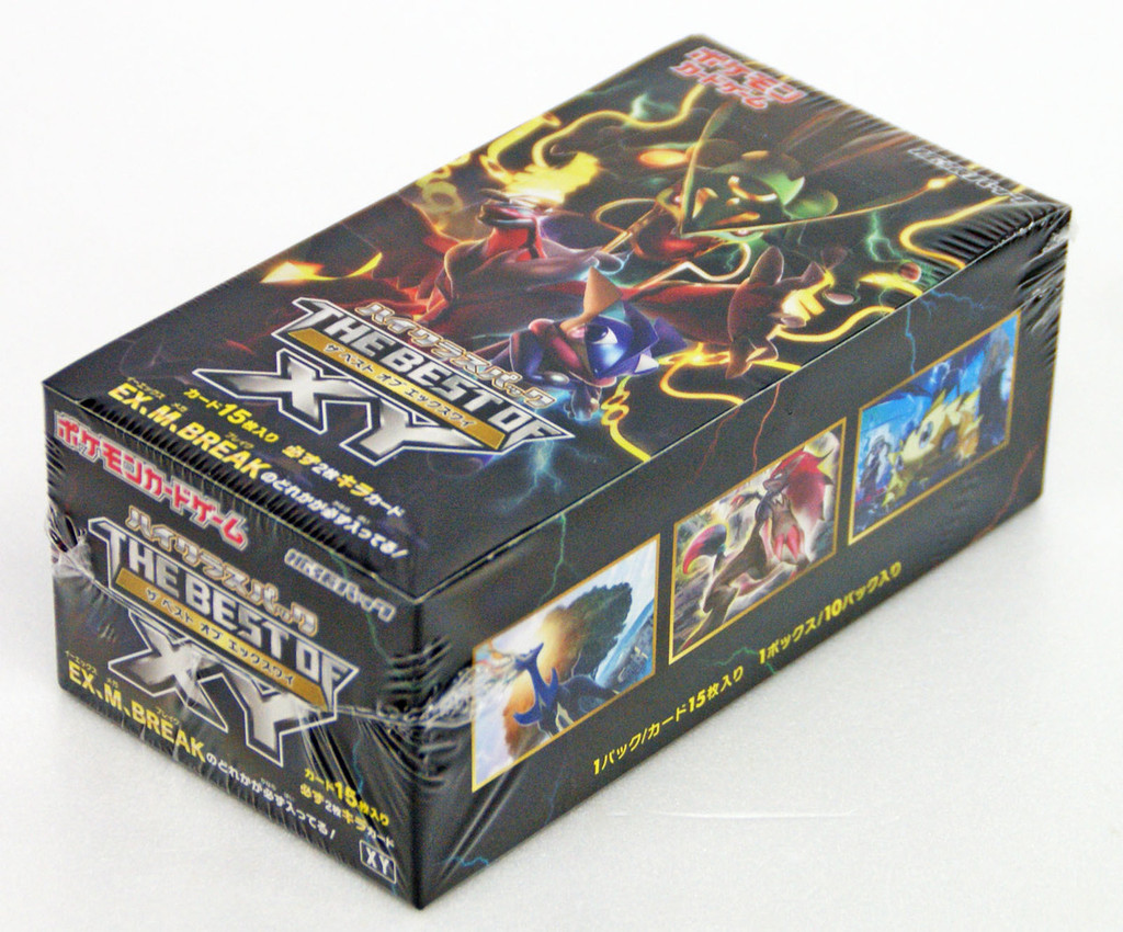Pokemon Card Game High Class Pack The Best of XY Box