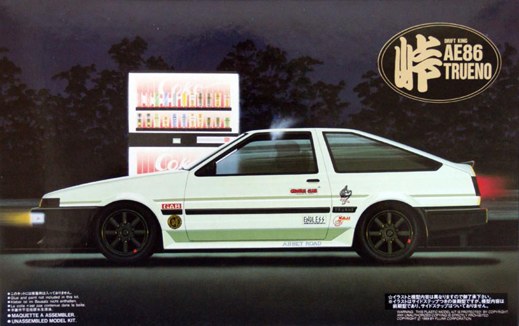 Fujimi TOHGE-03 Toyota AE86 Trueno 1/24 scale kit