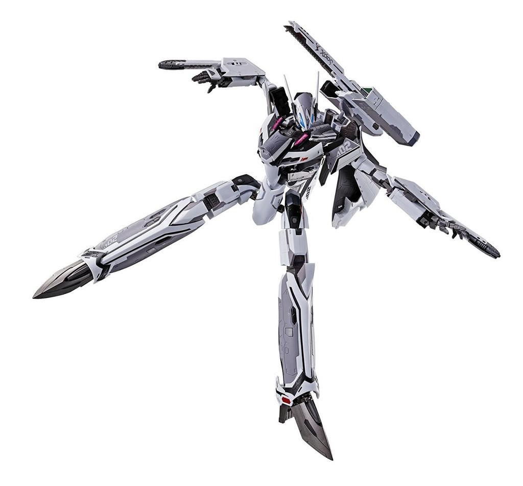 Bandai 129226 DX Chogokin Macross Delta VF-31F SIEGFRIED (Messer Ihlefeld Custom) Diecast Figure