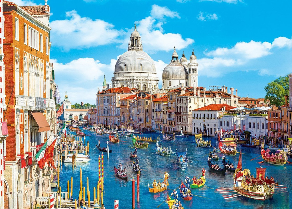 Epoch Jigsaw Puzzle 54-002 World Heritage Venice and Lagoon VIII Italy (2000 S-Pieces)