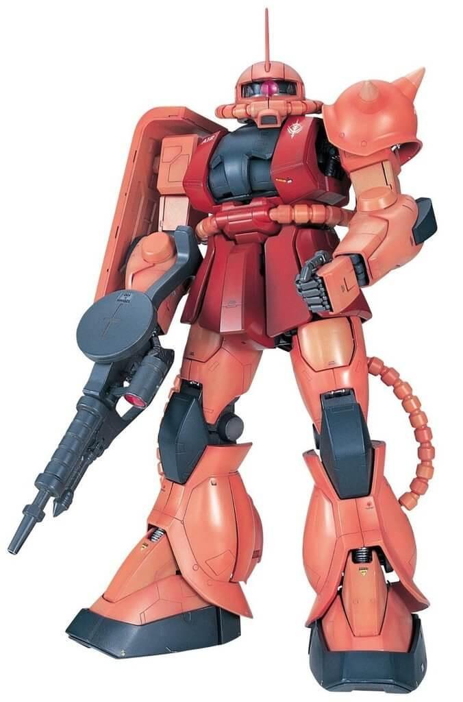 Bandai PG 718705 Gundam MS-06S ZAKU II 1/60 Scale Kit