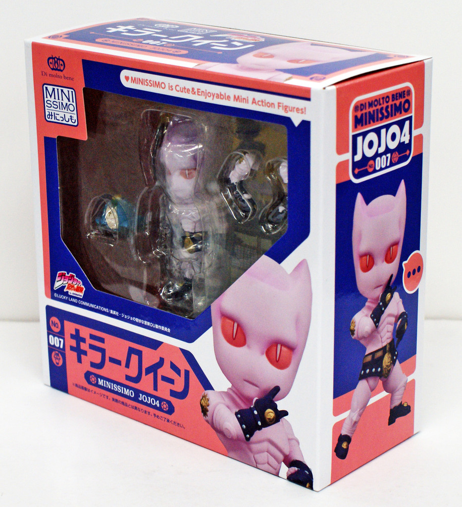 Di molto bene Minissimo TV Anime Jojo's Bizarre Adventure Killer Queen Figure