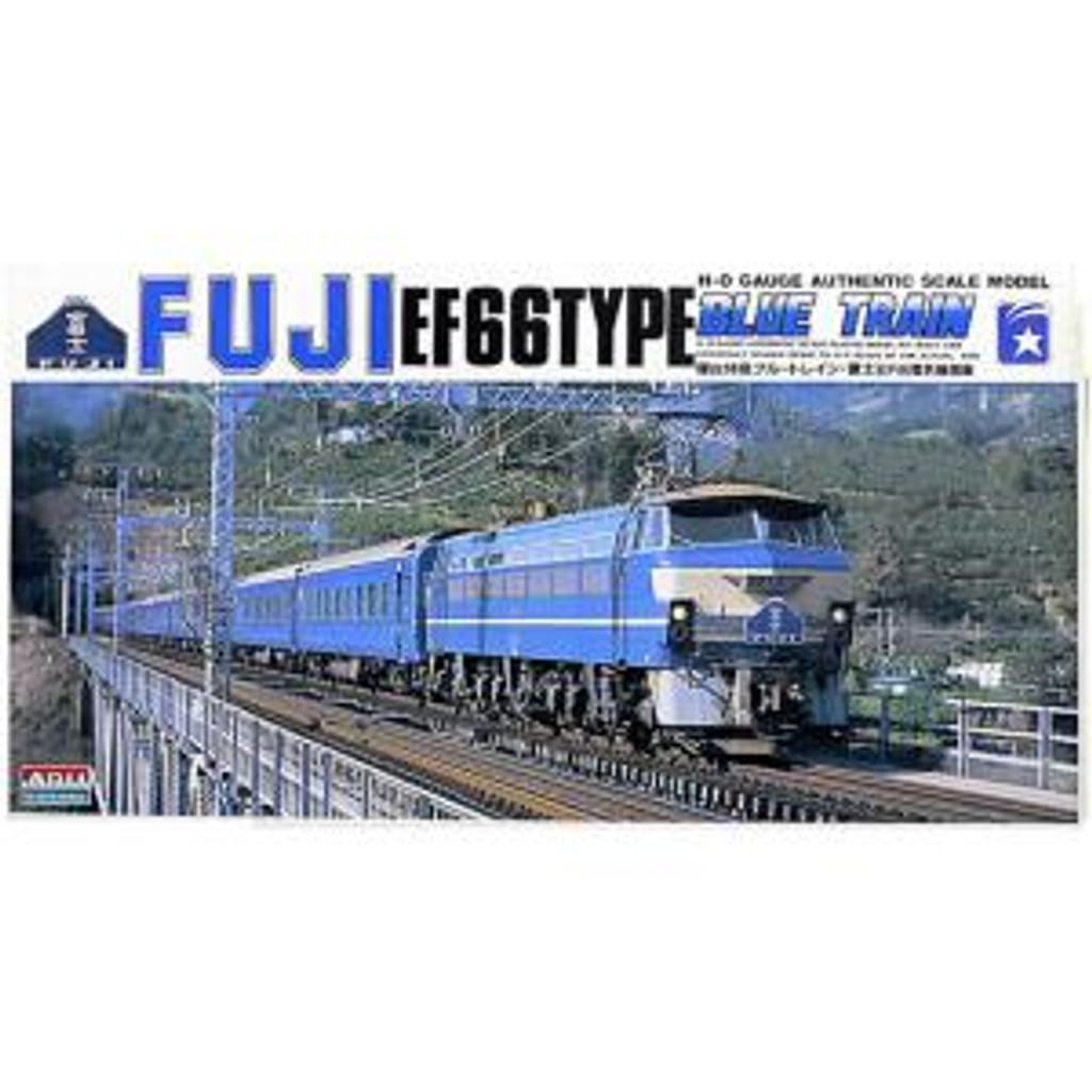 Arii 151822 Electric Locomotive EF66 Fuji 1/80 Scale Kit (Microace)