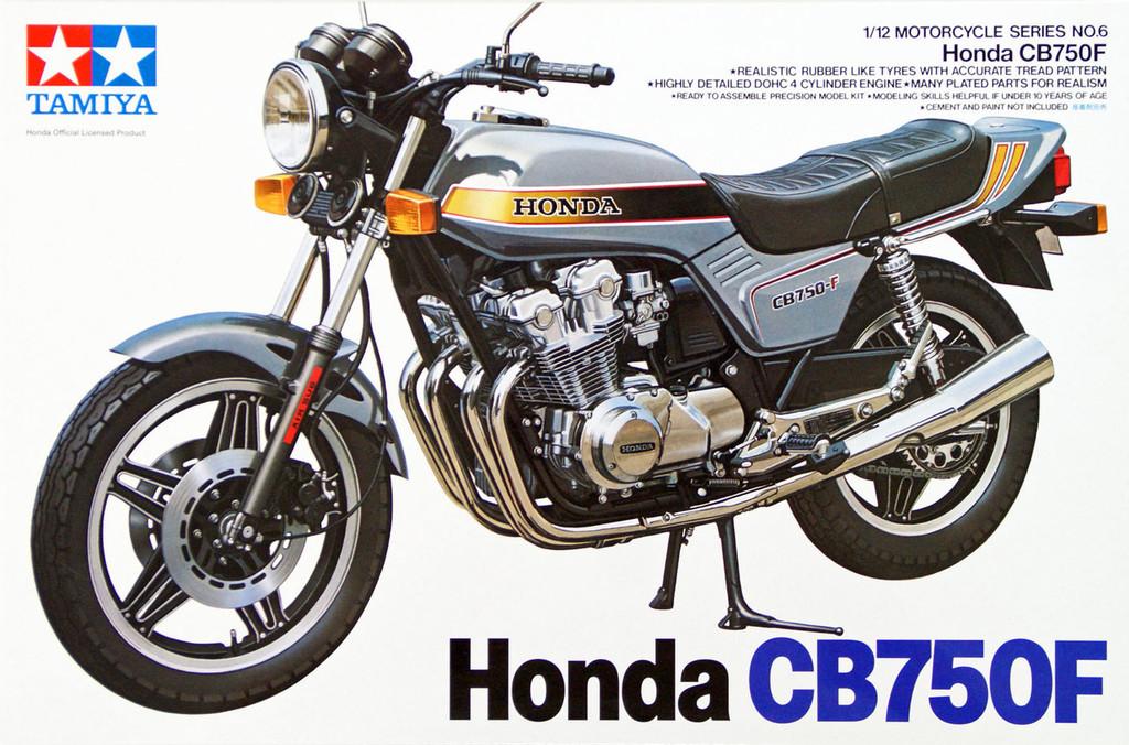Tamiya 14006 Honda CB750F 1/12 Scale Kit