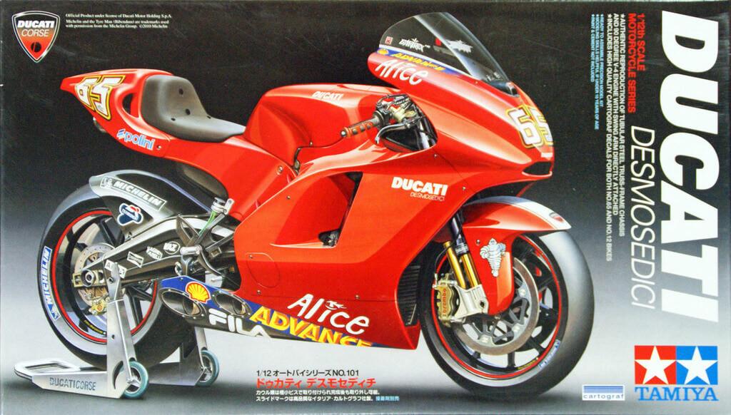 Tamiya 14101 Ducati Desmosedici 1/12 Scale Kit