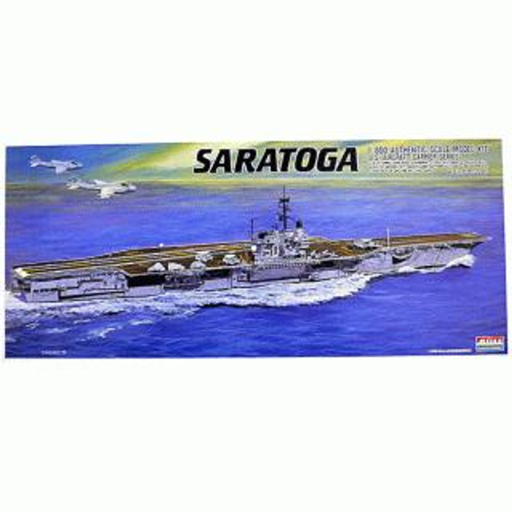 Arii-18 618189 USS Aircraft Carrier Saratoga CV-60 1/800 Scale Kit (Microace)