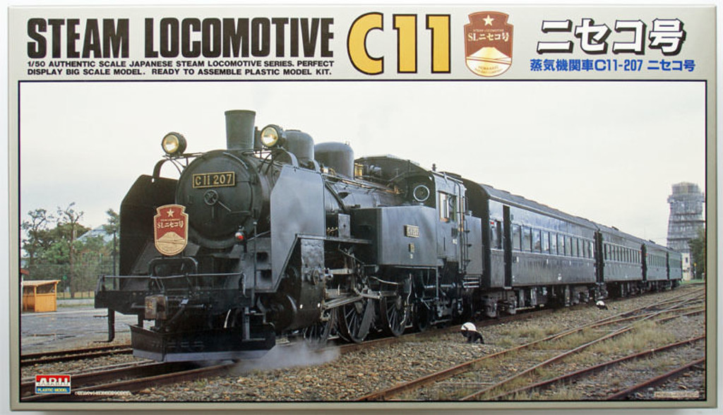 Arii 056028 Japanese Steam Locomotive Type C11 Niseko 1/50 Scale Kit (Microace)