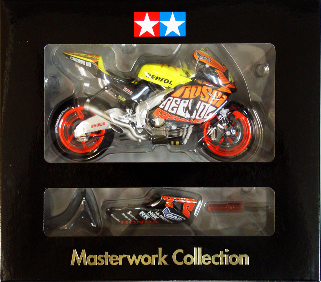 Tamiya 21019 Repsol RC211V Valencia Masterwork Collection 1/12 Scale Kit