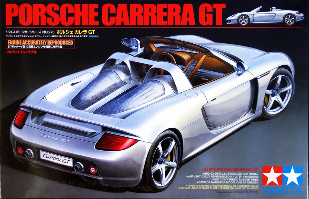 Tamiya 24275 Porsche Carrera GT 1/24 Scale Kit