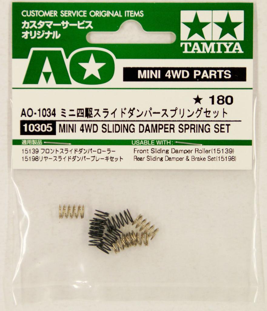 Tamiya AO-1034 Mini 4WD Sliding Damper Spring Set (10305)
