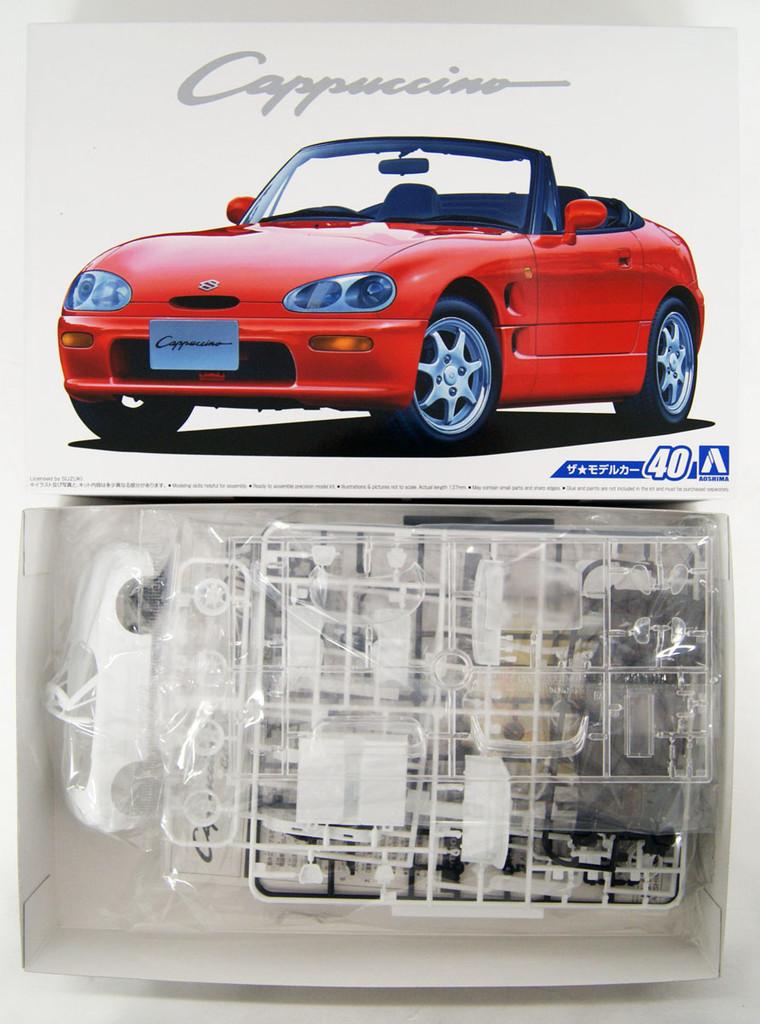 Aoshima 53416 The Model Car 40 Suzuki EA11R Cappuccino 1991 1/24 scale kit