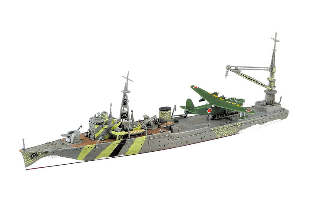 Aoshima Waterline 51764 IJN Seaplane Tender AKITSUSHIMA 1/700 scale kit