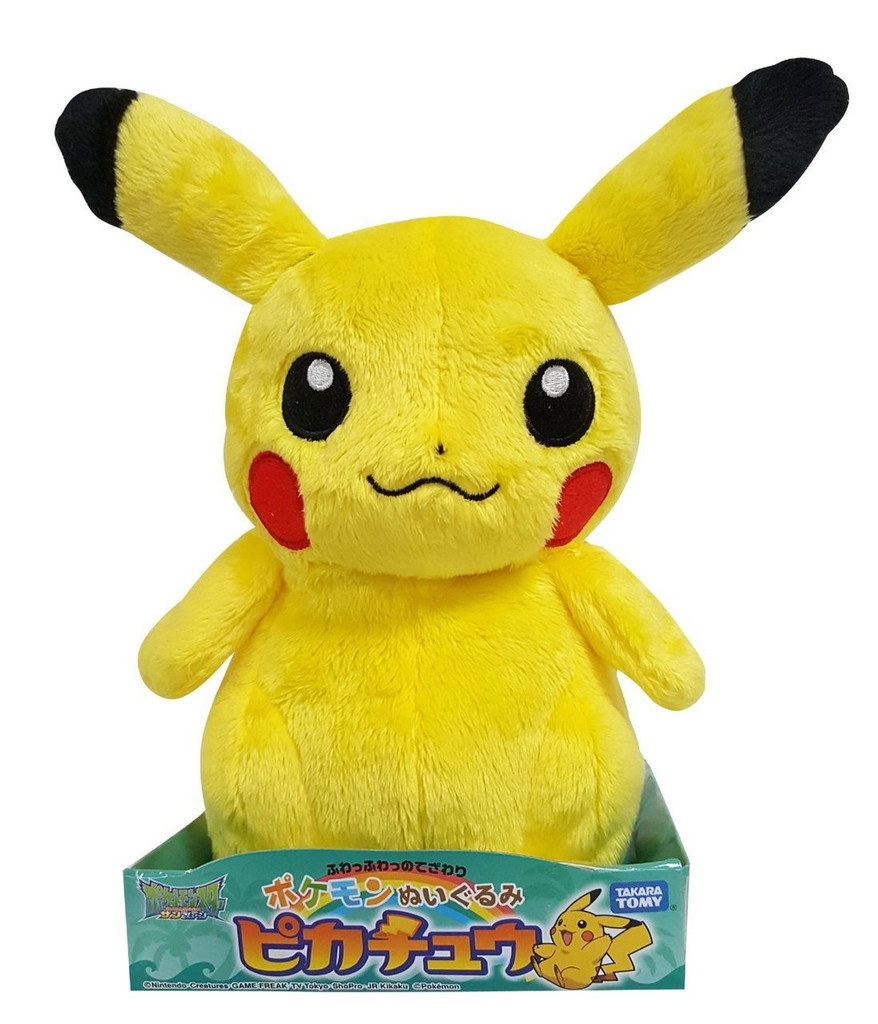 Takara Tomy Pokemon Plush Doll Pikachu 884156
