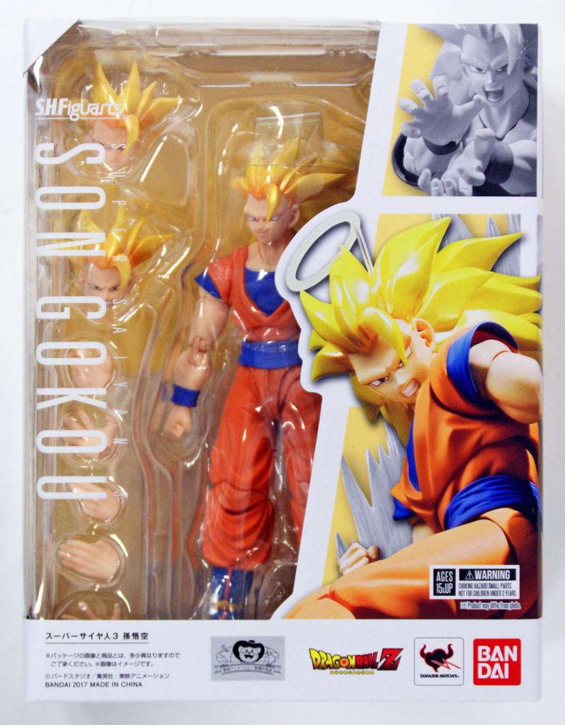 Bandai 149484 S.H. Figuarts Dragon Ball Super Saiyan 3 Son Goku Action Figure