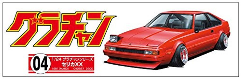 Aoshima 42687 Celica XX 2000GT Twincam 24 (TOYOTA) 1/24 scale kit