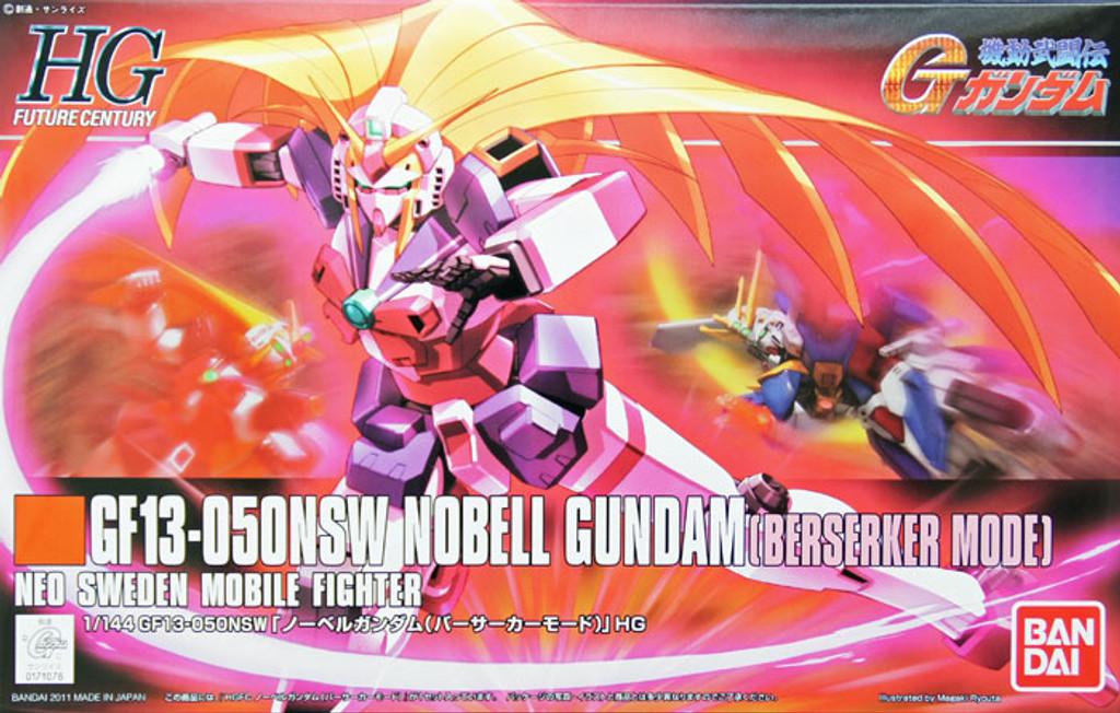 Bandai HGUC 129 GF13-050NSW NOBELL Gundam (BERSERKER MODE) 1/144 Scale Kit