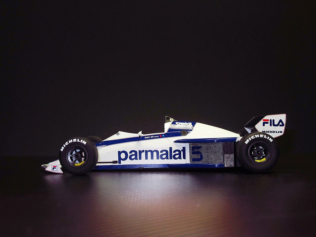Aoshima 98233 Brabham BT52 1983 Monaco GP Ver. 1/24 scale kit